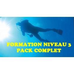 FORMATION NIVEAU 3 - PACK COMPLET
