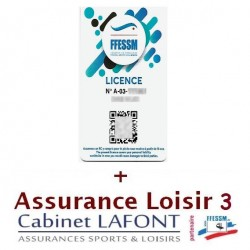 LICENCE FFESSM 2020 + Assurance Loisir 3